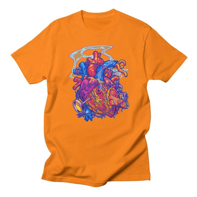 Beast Heart Men's T-shirt by Beastwreck