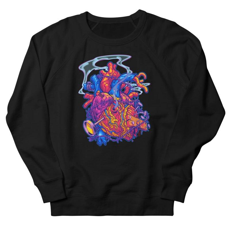 Beast Heart Men's Sweatshirt by Beastwreck