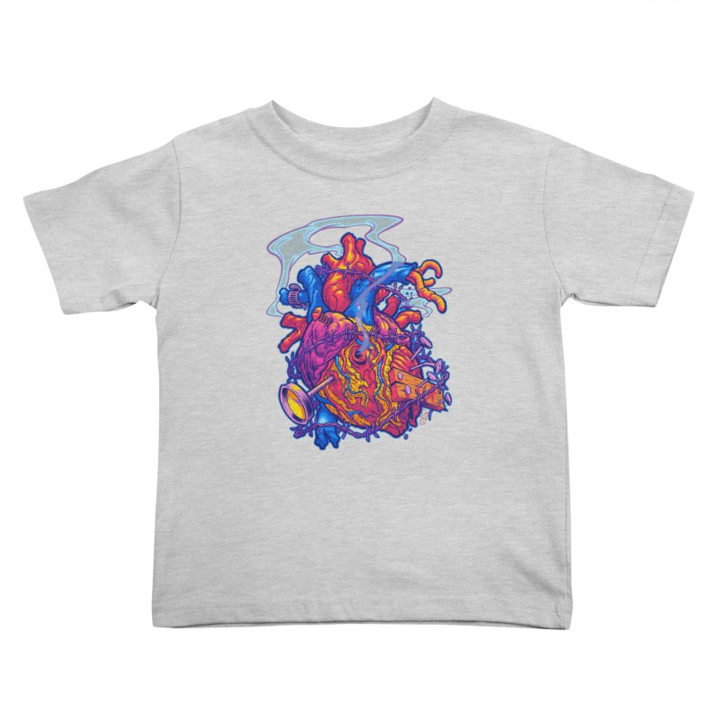 Beast Heart Kids Toddler T-Shirt by Beastwreck