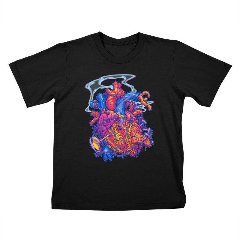 Beast Heart Kids T-Shirt by Beastwreck