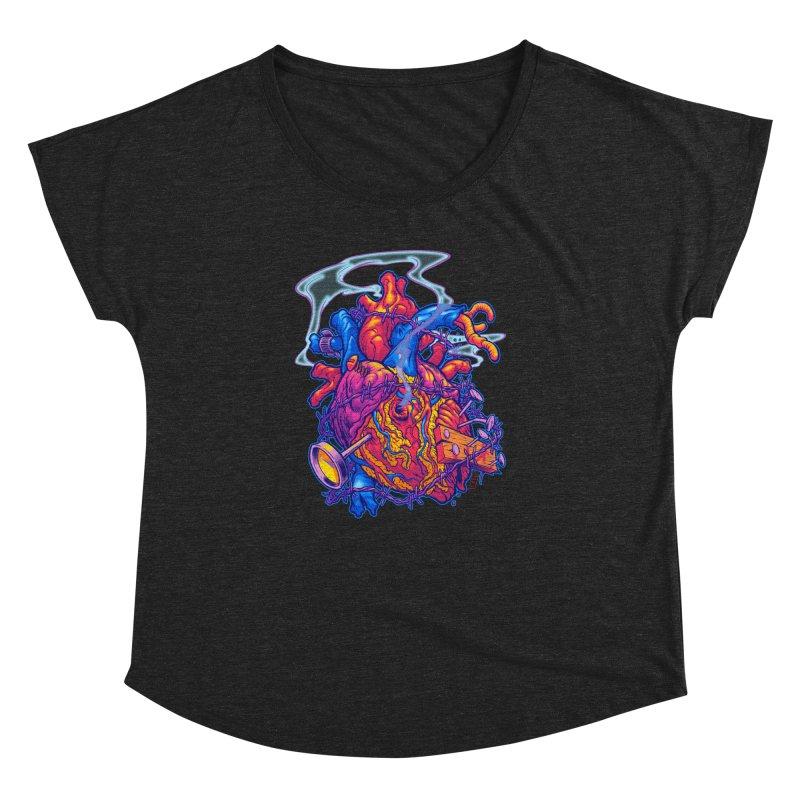 Beast Heart Women's Dolman by Beastwreck