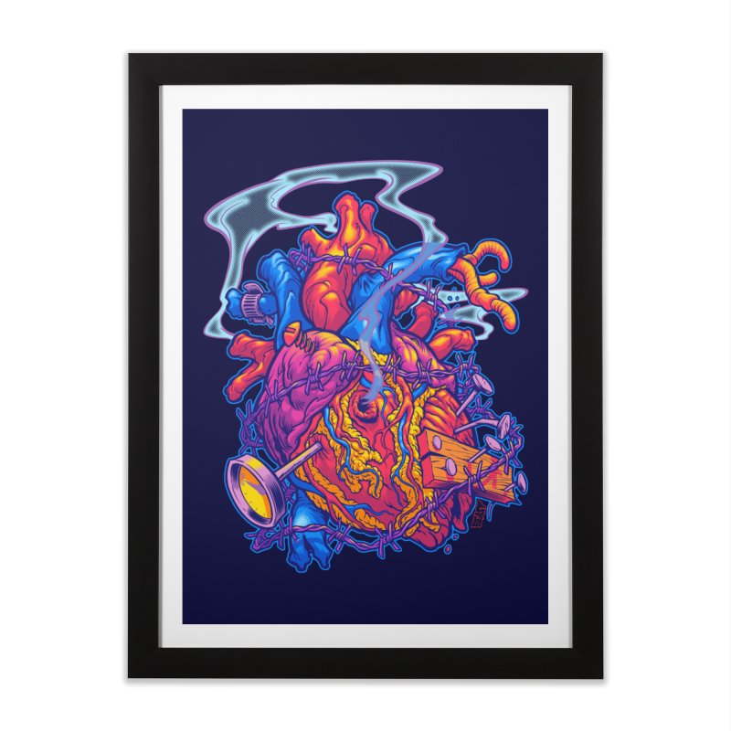 Beast Heart Home Framed Fine Art Print by Beastwreck