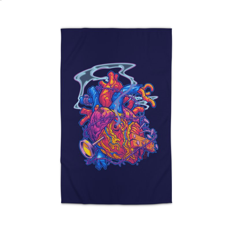 Beast Heart Home Rug by Beastwreck