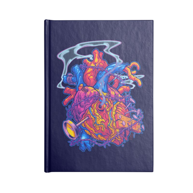 Beast Heart Accessories Notebook by Beastwreck