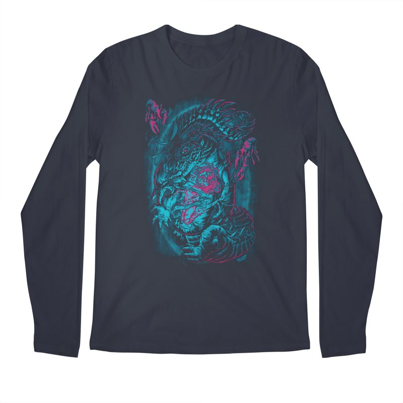 Croc-Lord Men's Longsleeve T-Shirt by Beastwreck