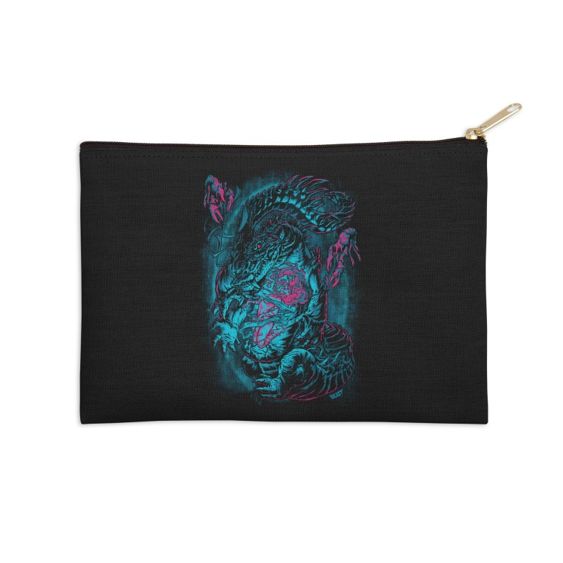 Croc-Lord Accessories Zip Pouch by Beastwreck