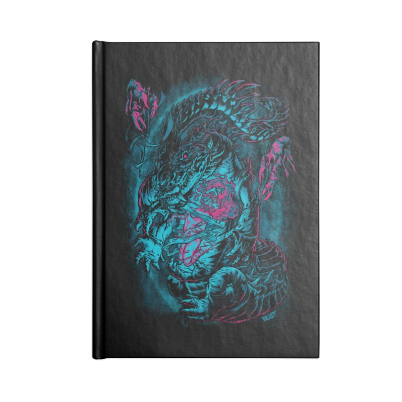 Croc-Lord Accessories Notebook by Beastwreck