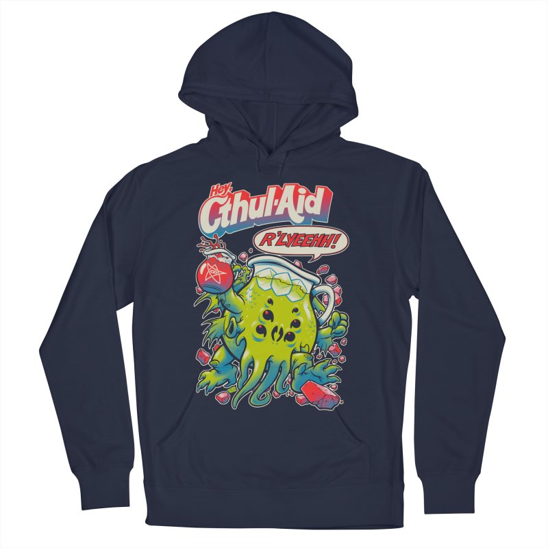 CTHUL-AID  Men's Pullover Hoody by Beastwreck