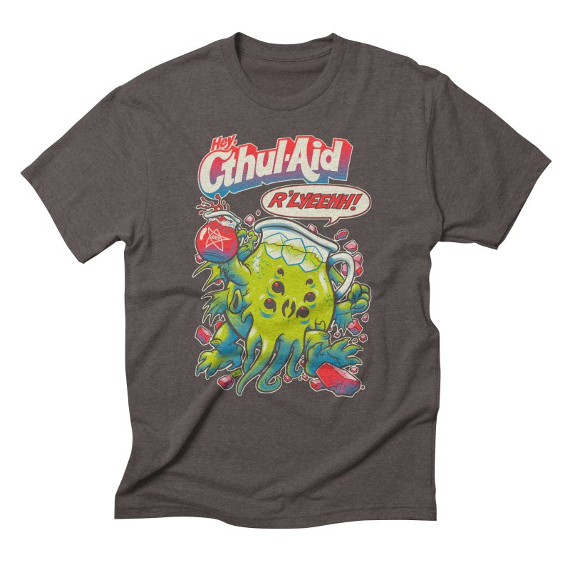 CTHUL-AID  Men's Triblend T-Shirt by Beastwreck
