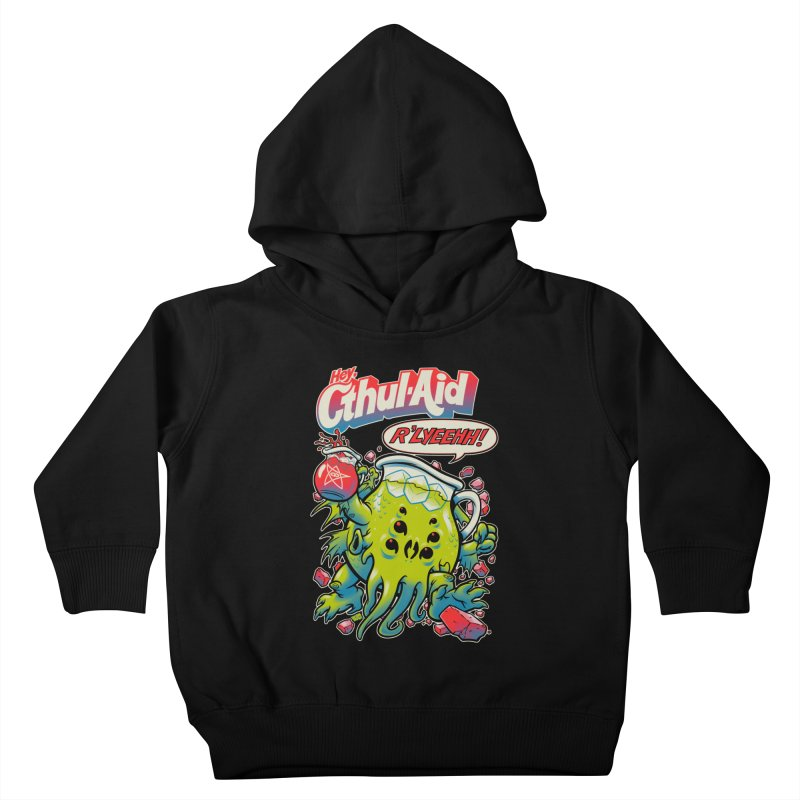 CTHUL-AID  Kids Toddler Pullover Hoody by Beastwreck
