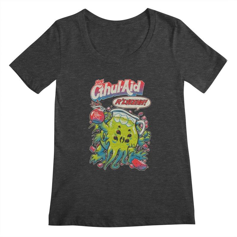 CTHUL-AID  Women's Scoopneck by Beastwreck