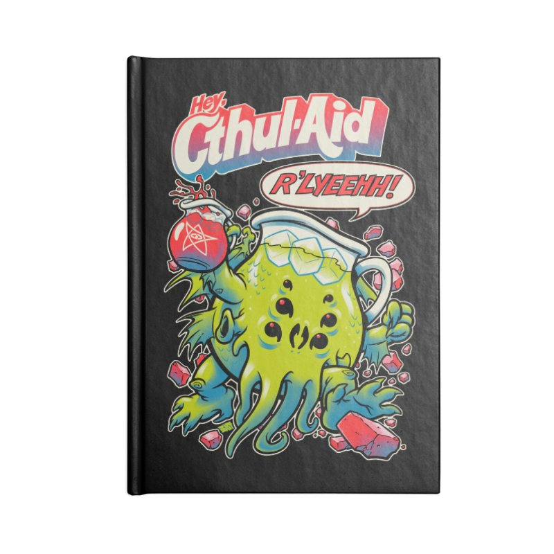 CTHUL-AID  Accessories Notebook by Beastwreck