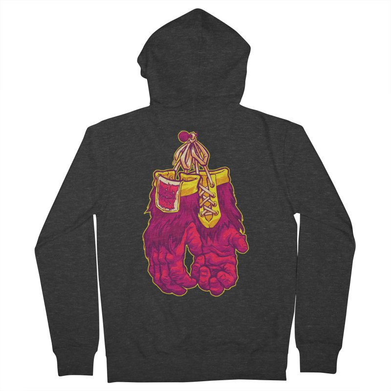 GORILLA GLOVES Women's Zip-Up Hoody by Beastwreck