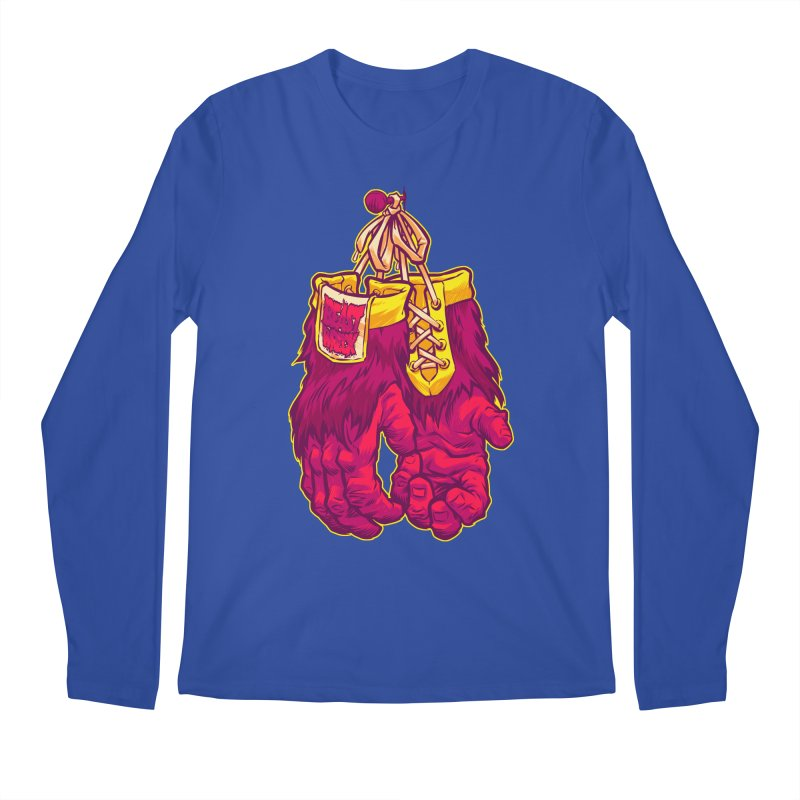 GORILLA GLOVES Men's Longsleeve T-Shirt by Beastwreck