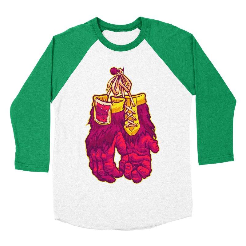 GORILLA GLOVES Men's Baseball Triblend T-Shirt by Beastwreck