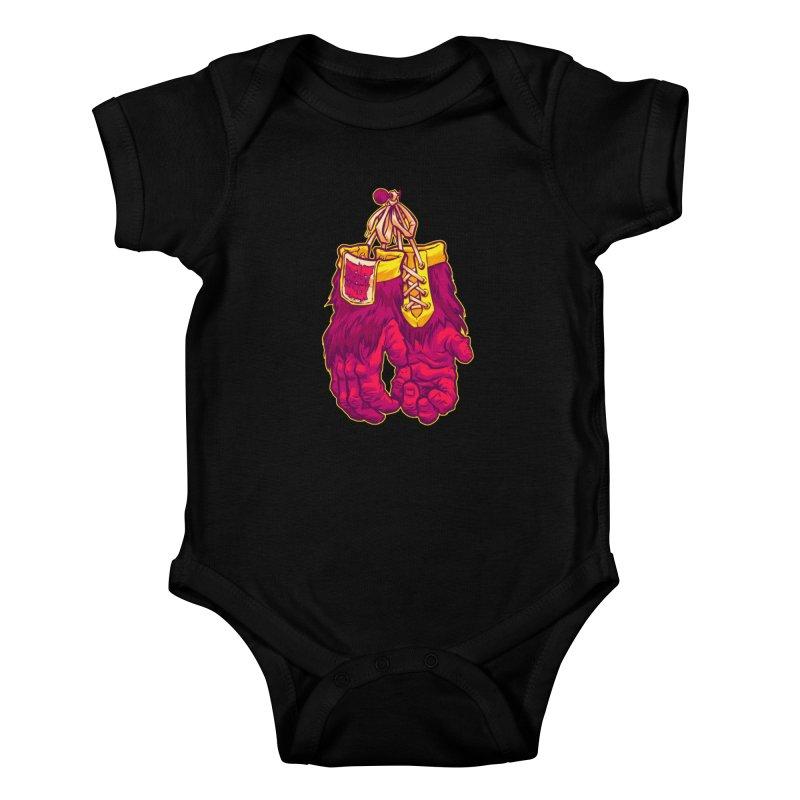 GORILLA GLOVES Kids Baby Bodysuit by Beastwreck