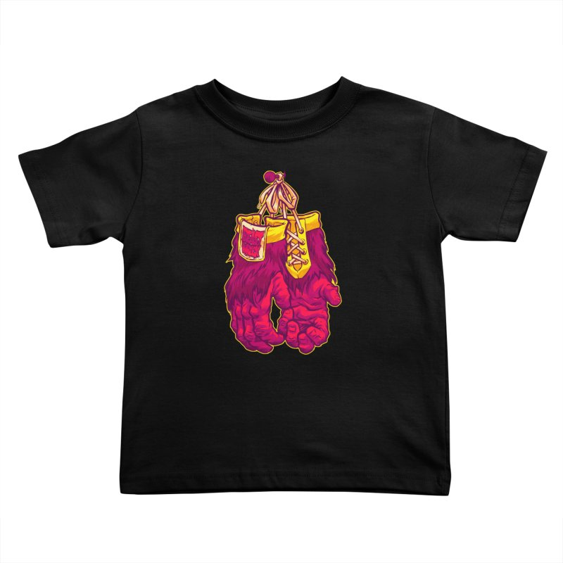 GORILLA GLOVES Kids Toddler T-Shirt by Beastwreck