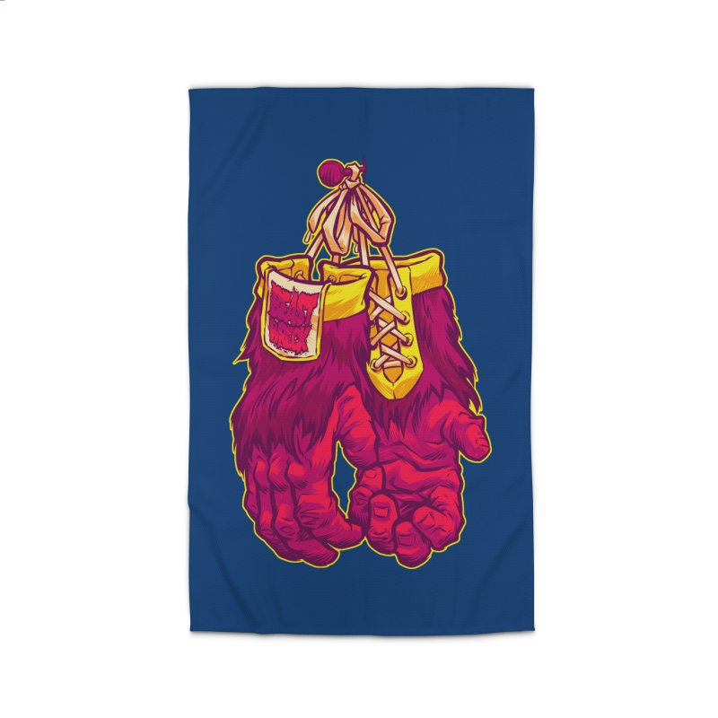 GORILLA GLOVES Home Rug by Beastwreck