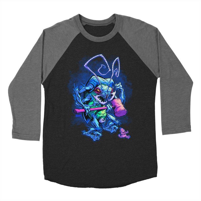 HAMMERBUG Women's Baseball Triblend T-Shirt by Beastwreck