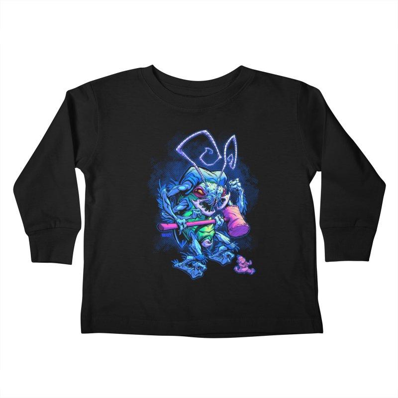 HAMMERBUG Kids Toddler Longsleeve T-Shirt by Beastwreck