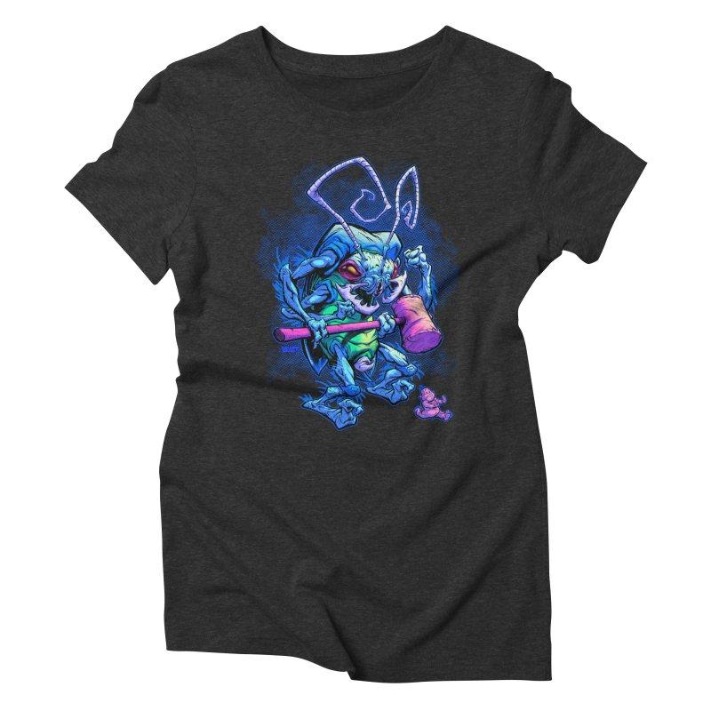 HAMMERBUG Women's Triblend T-shirt by Beastwreck