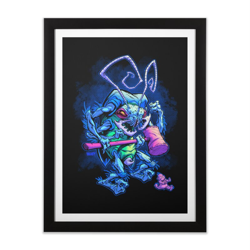 HAMMERBUG Home Framed Fine Art Print by Beastwreck