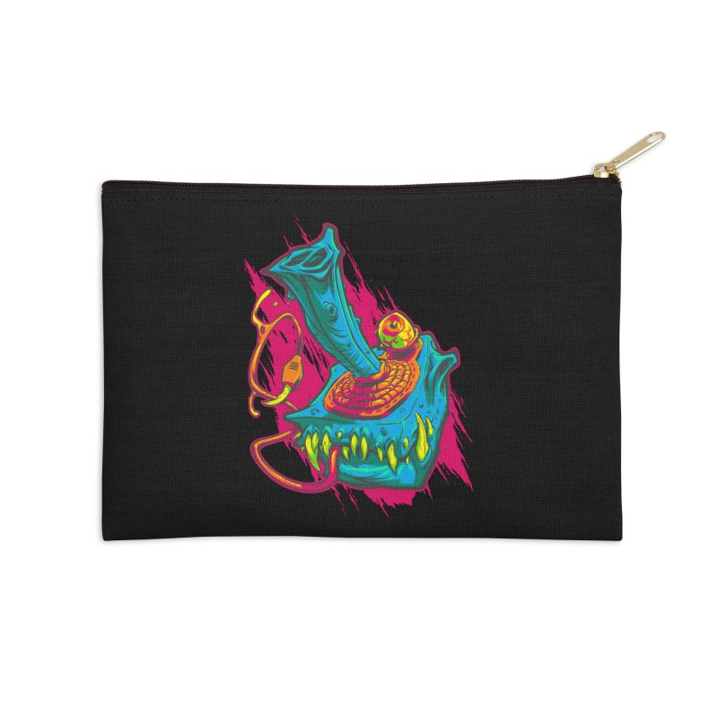 JOYSTICK MONSTER Accessories Zip Pouch by Beastwreck