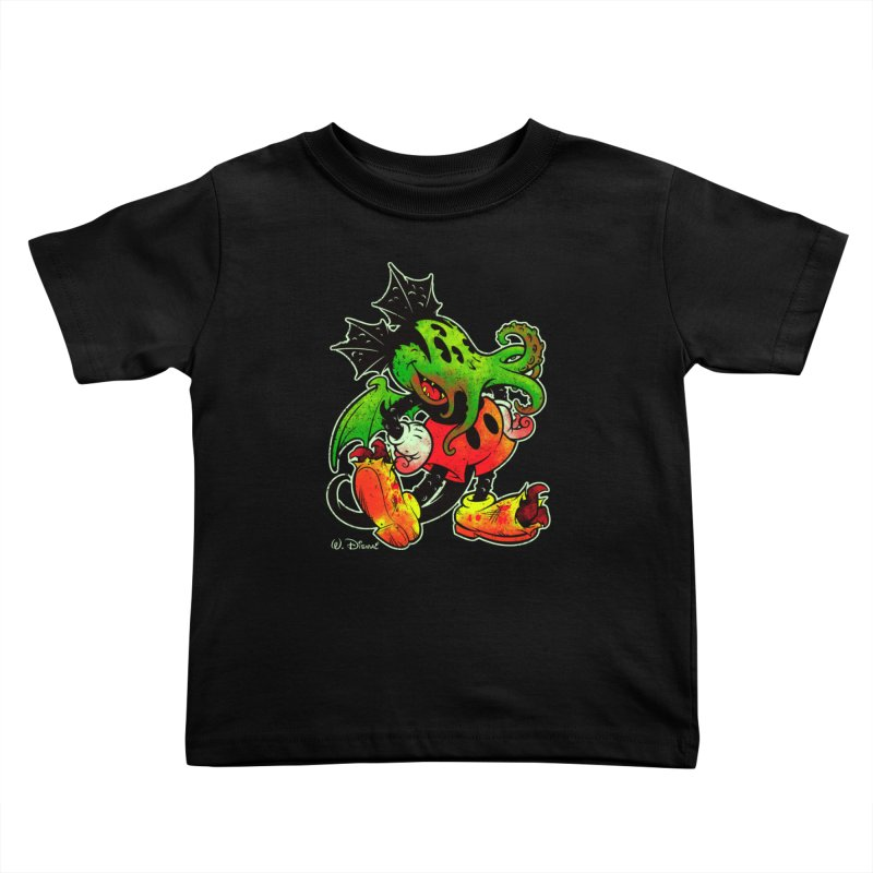 MICKTHULHU MOUSE Kids Toddler T-Shirt by Beastwreck