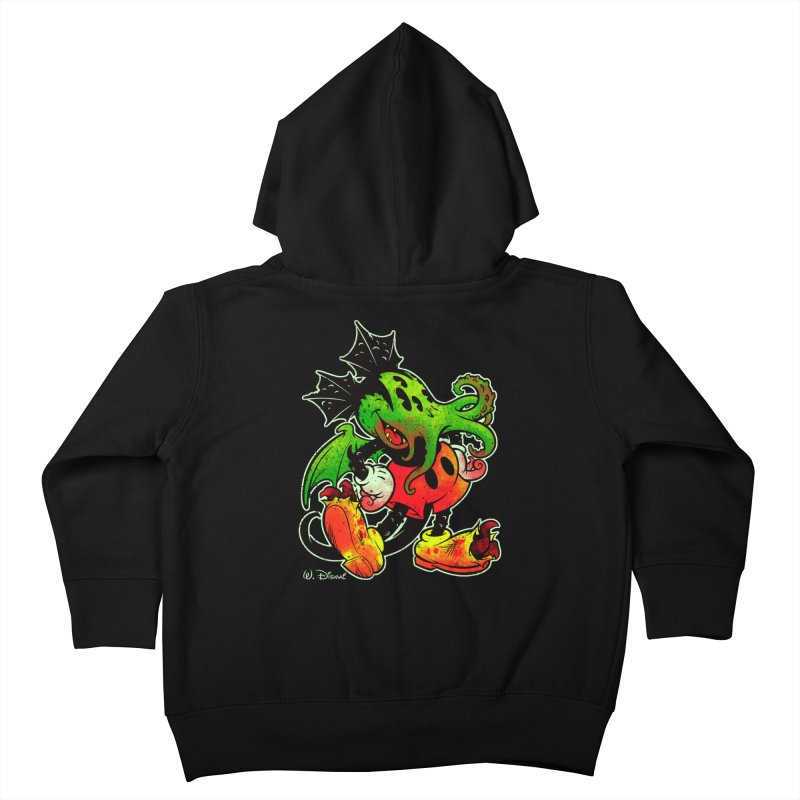 MICKTHULHU MOUSE Kids Toddler Zip-Up Hoody by Beastwreck
