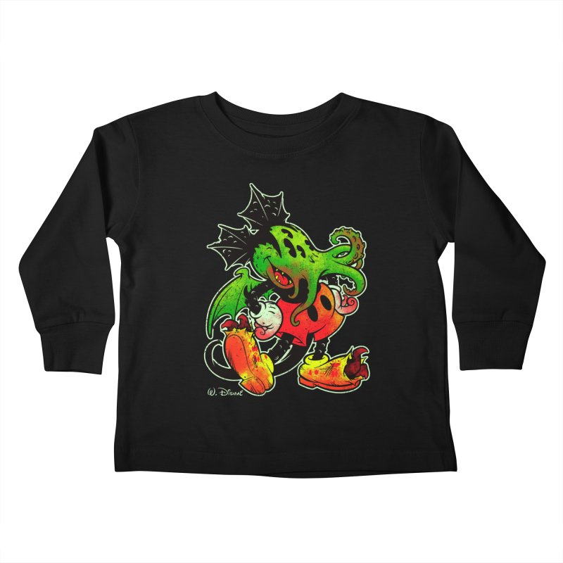 MICKTHULHU MOUSE Kids Toddler Longsleeve T-Shirt by Beastwreck