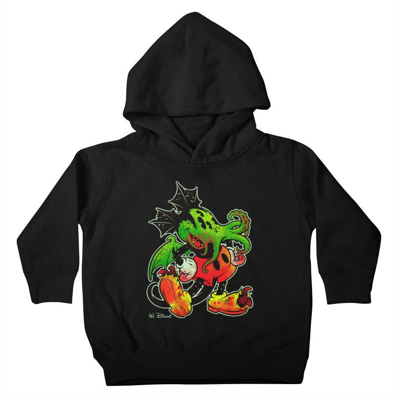 MICKTHULHU MOUSE Kids Toddler Pullover Hoody by Beastwreck