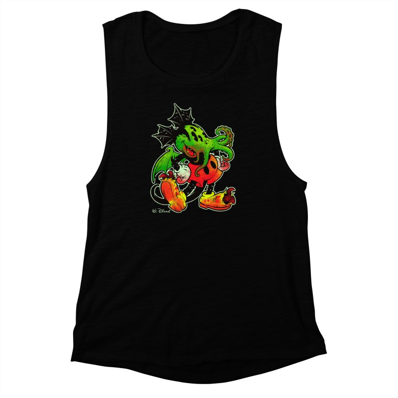 MICKTHULHU MOUSE Women's Muscle Tank by Beastwreck