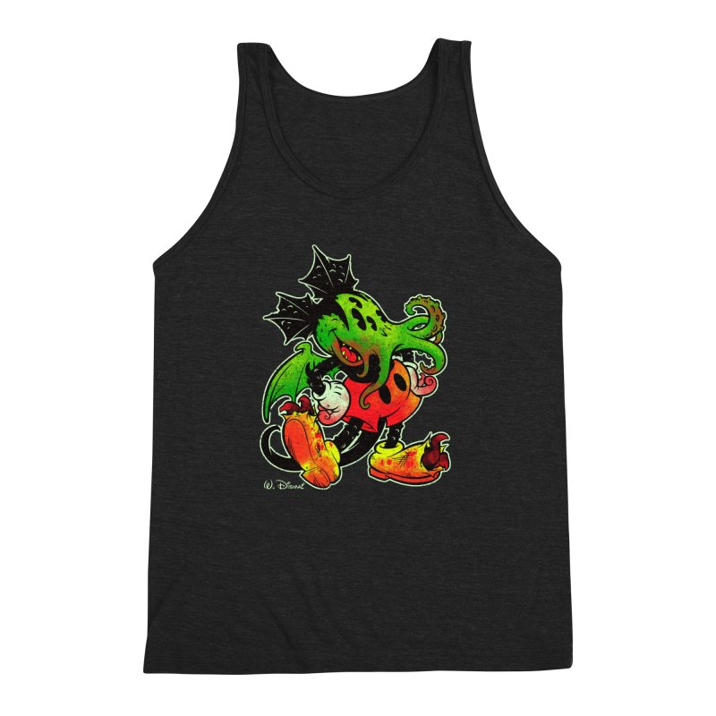 MICKTHULHU MOUSE Men's Triblend Tank by Beastwreck