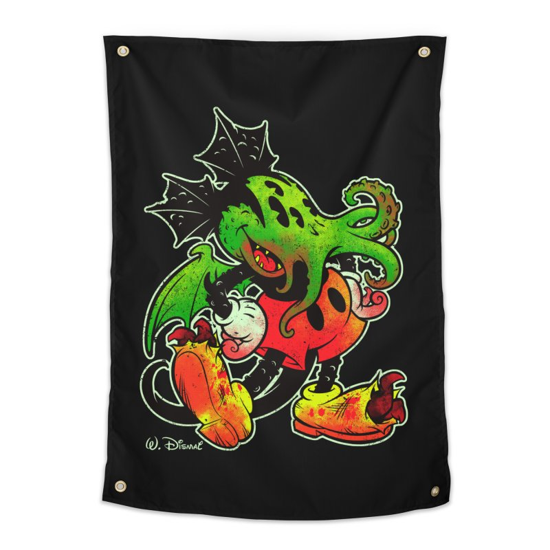 MICKTHULHU MOUSE Home Tapestry by Beastwreck