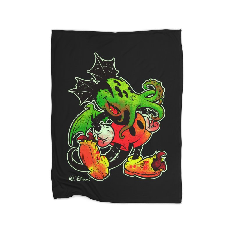 MICKTHULHU MOUSE Home Blanket by Beastwreck