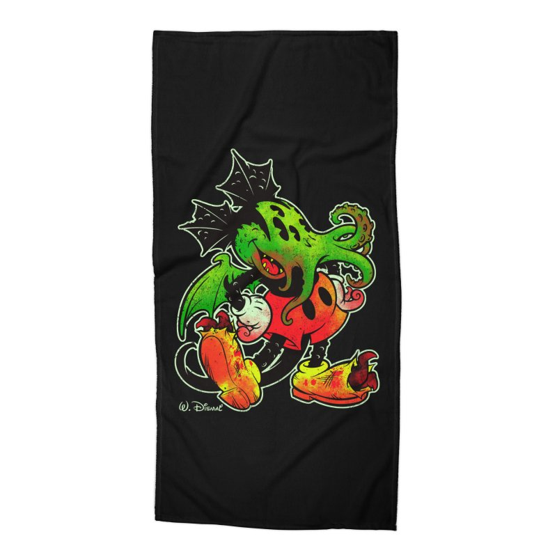 MICKTHULHU MOUSE Accessories Beach Towel by Beastwreck