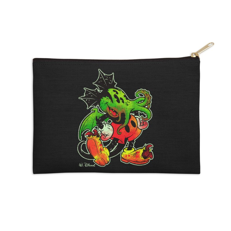 MICKTHULHU MOUSE Accessories Zip Pouch by Beastwreck