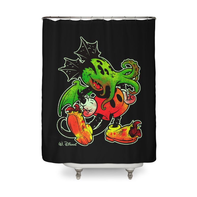 MICKTHULHU MOUSE Home Shower Curtain by Beastwreck