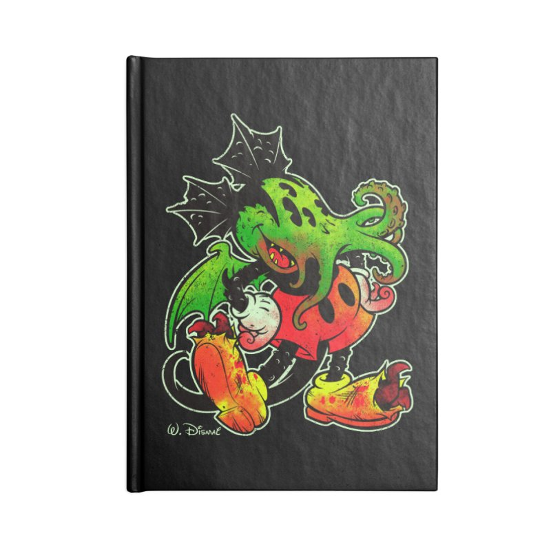 MICKTHULHU MOUSE Accessories Notebook by Beastwreck