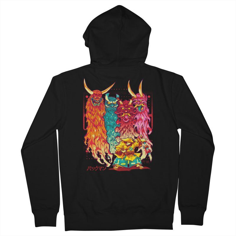 PAKKU-MAN Women's Zip-Up Hoody by Beastwreck