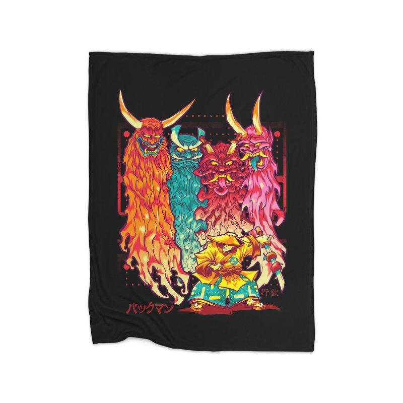 PAKKU-MAN Home Blanket by Beastwreck