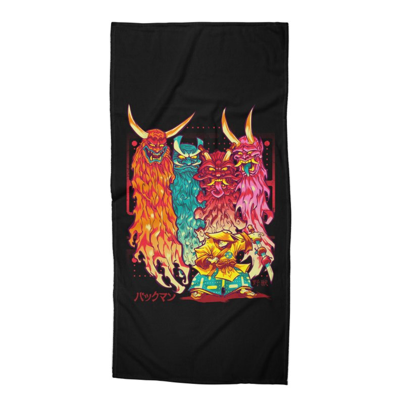 PAKKU-MAN Accessories Beach Towel by Beastwreck