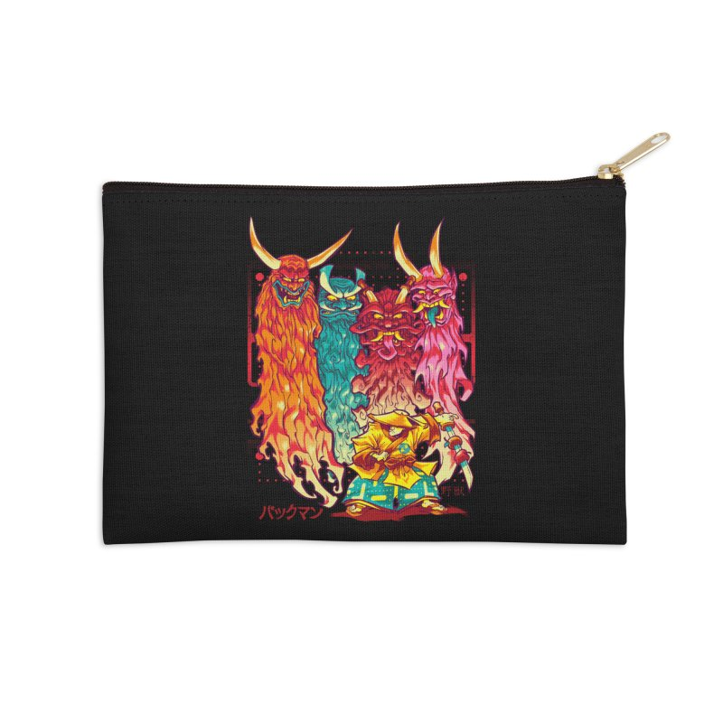 PAKKU-MAN Accessories Zip Pouch by Beastwreck