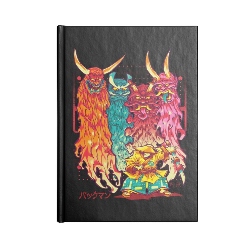 PAKKU-MAN Accessories Notebook by Beastwreck