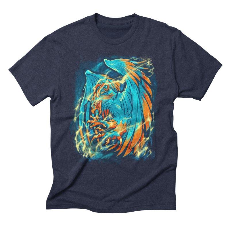 THUNDERBIRD Men's Triblend T-Shirt by Beastwreck