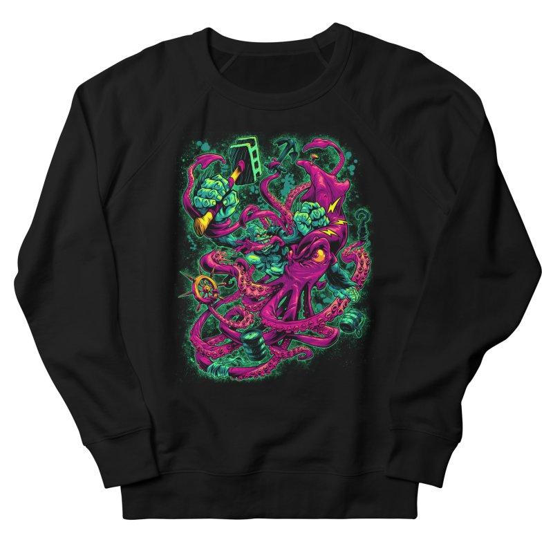GORILLA VS. SQUID Women's Sweatshirt by Beastwreck