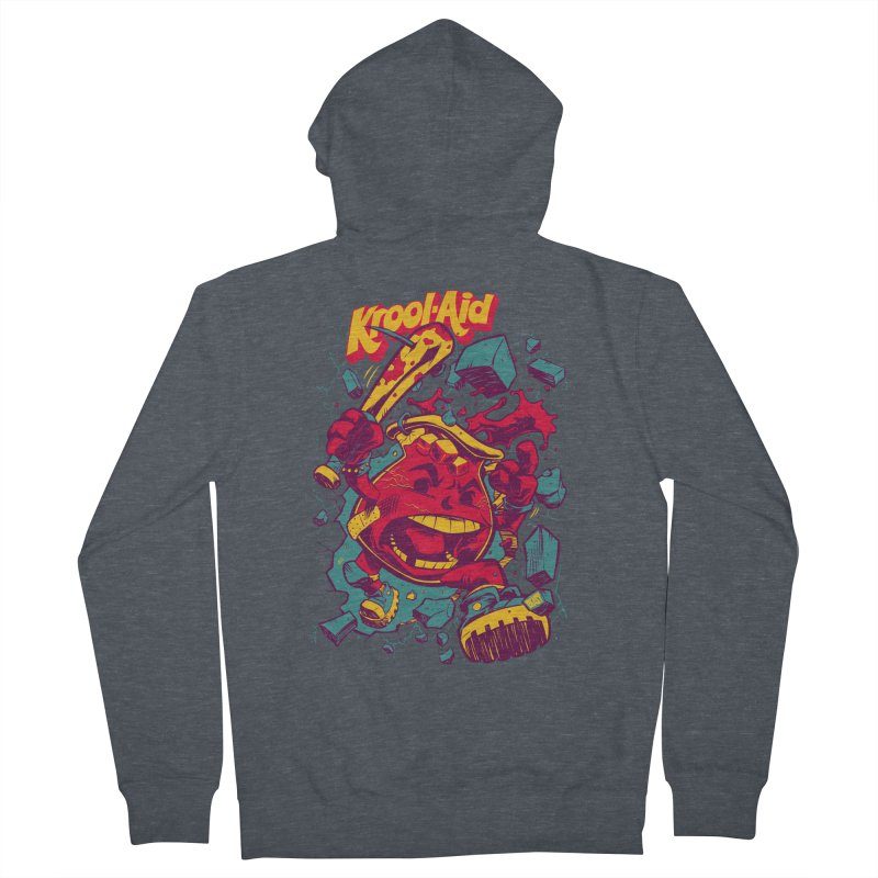 KROOL AID Women's Zip-Up Hoody by Beastwreck