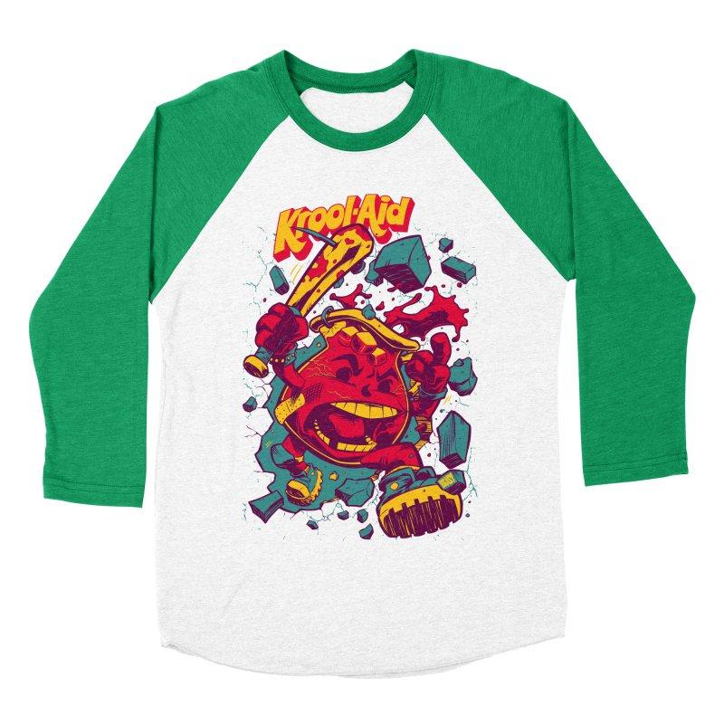 KROOL AID Women's Baseball Triblend T-Shirt by Beastwreck