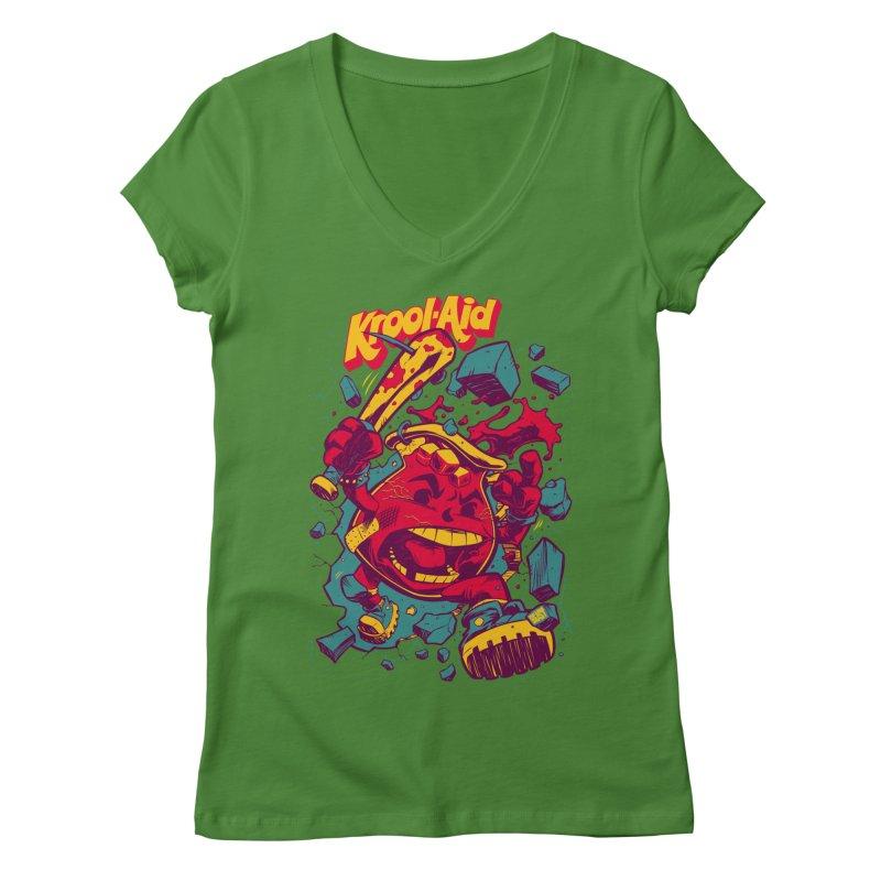 KROOL AID Women's V-Neck by Beastwreck