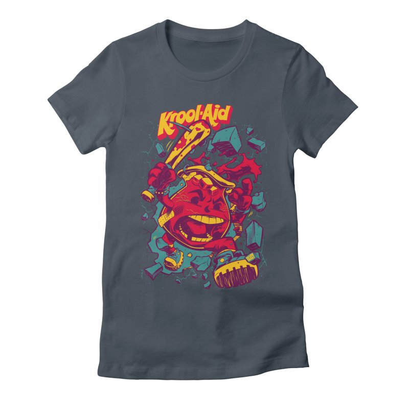 KROOL AID Women's Fitted T-Shirt by Beastwreck
